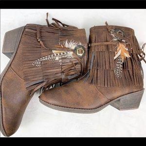 Justice Fringe Boots